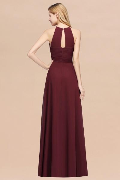A-Line Chiffon Halter Ruffles Floor-Length Bridesmaid Dress_52