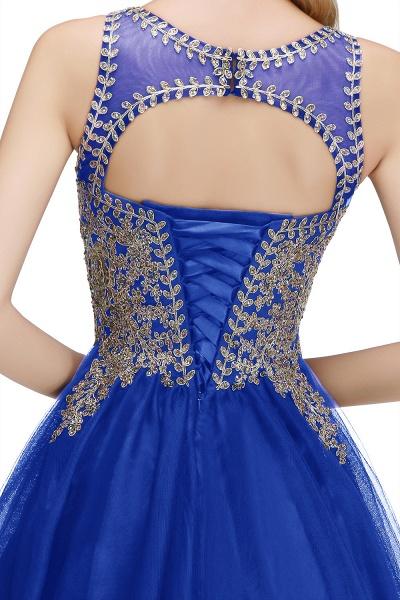 Fabulous Jewel Tulle A-line Evening Dress_16