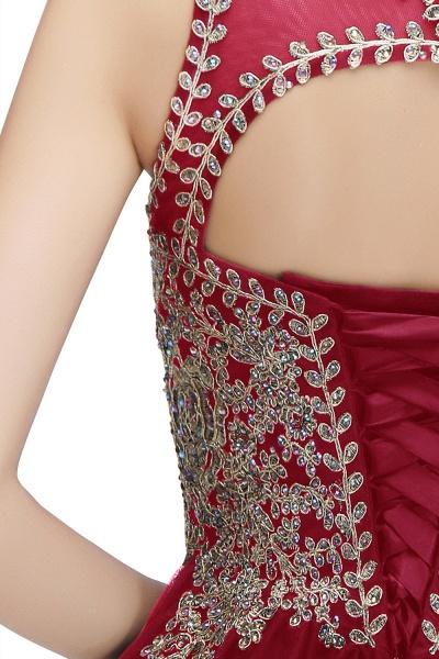 Fabulous Jewel Tulle A-line Evening Dress_32