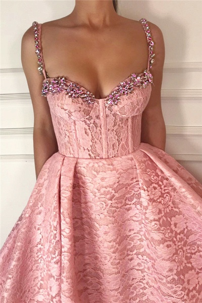 Exquisite Sweetheart Lace Ball Gown Prom Dress_2