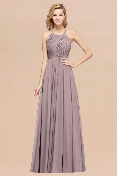 A-Line Chiffon Halter Ruffles Floor-Length Bridesmaid Dress_37