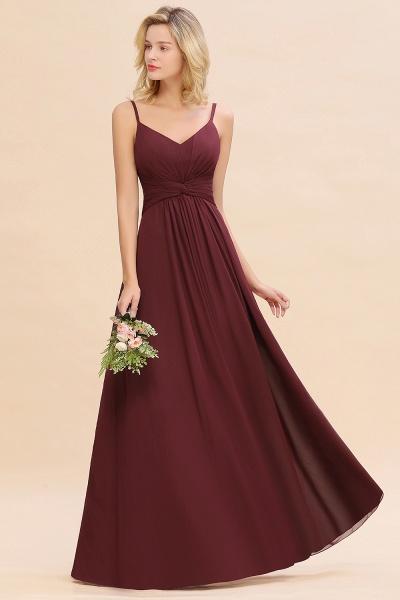 BM0762 Elegant A-line Ruffles Spaghetti Straps Bridesmaid Dress_54