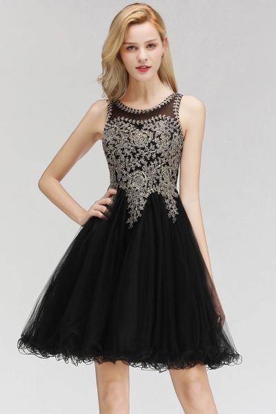 Fabulous Jewel Tulle A-line Evening Dress_3