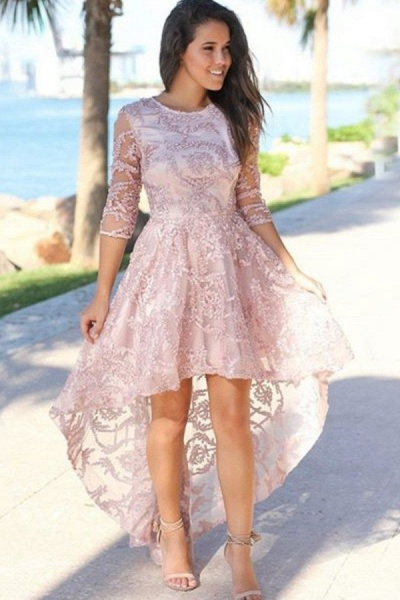 Glorious Jewel Tulle A-line Prom Dress_1