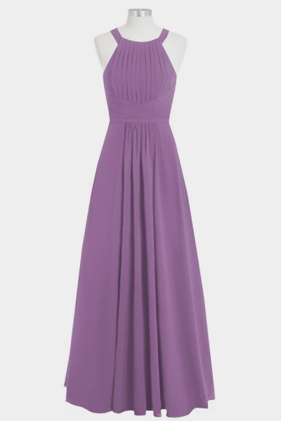 Graceful Ruffle Chiffon A-line Bridesmaid Dress