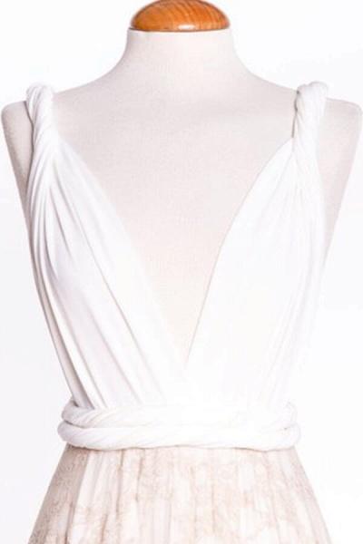 Awesome V-neck Lace Sheath Wedding Dress_8