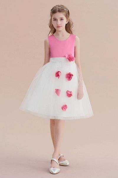 Affordable Tulle A-line Flower Girl Dress_7