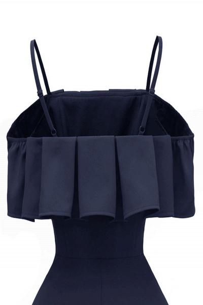 Sexy Spaghetti Straps Cascading Ruffles Vintage Dresses | Womens High quality princess Cocktail Dress_11