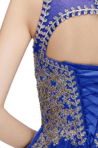 Fabulous Jewel Tulle A-line Evening Dress_15
