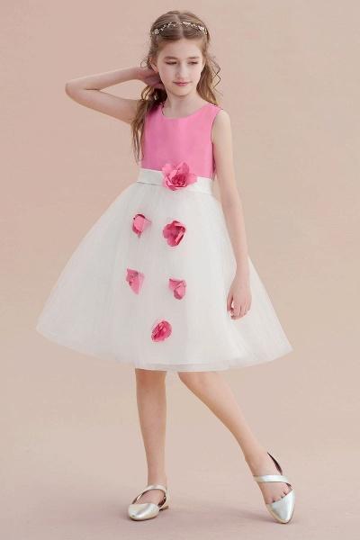 Affordable Tulle A-line Flower Girl Dress_6