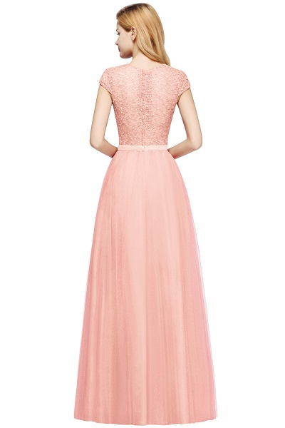 Graceful Jewel Tulle A-line Evening Dress_14