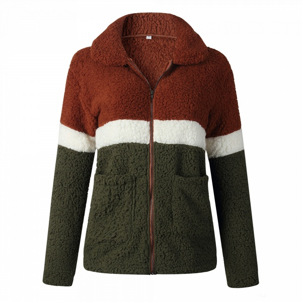 Daily Street Fashion Basic Two Toned Fur Coats_2