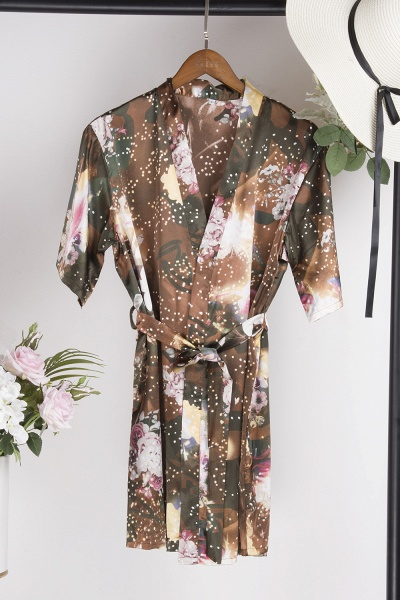 Affordable Printed Bridesmaid Bridal Robes_12