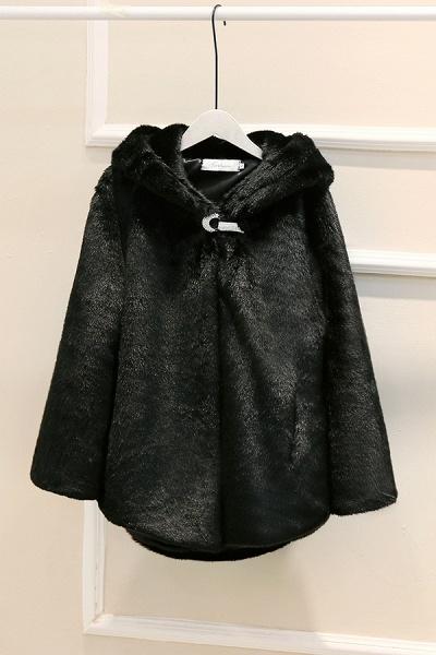 Hooded Daily Basic Club Faux Fur Coat_3