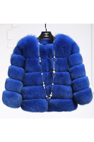 Women's Daily Party Long Faux Fur Coats_45