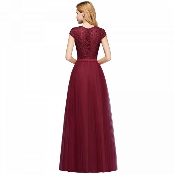 Graceful Jewel Tulle A-line Evening Dress_12
