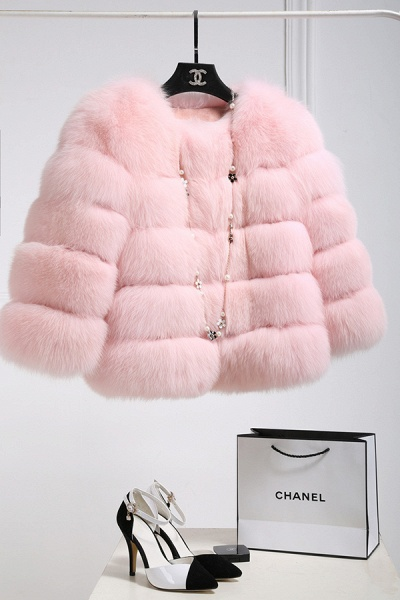 Women's Daily Party Long Faux Fur Coats_2