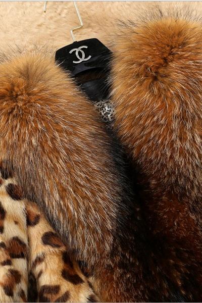 Daily Street Fashion Winter Long Faux Fur Coats_6