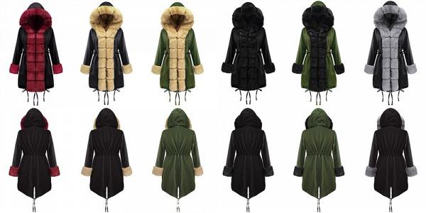 Winter Faux Fur-trimmed Long-length Overcoat_9