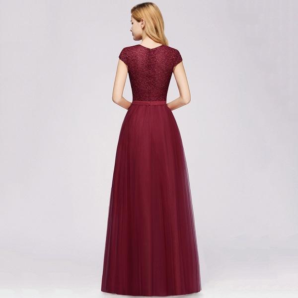 Graceful Jewel Tulle A-line Evening Dress_11