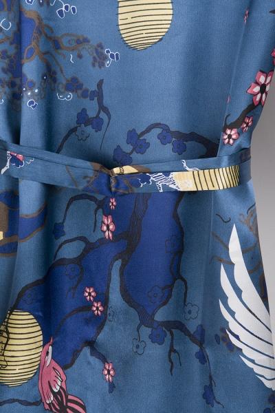 Casual Pattern Bridesmaid Bridal Robes_21