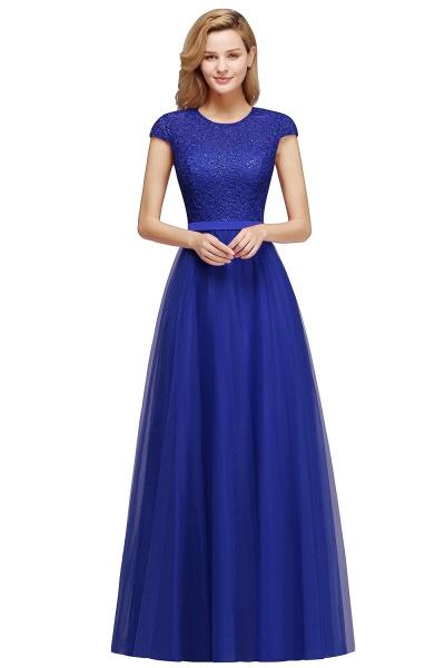 Graceful Jewel Tulle A-line Evening Dress_3