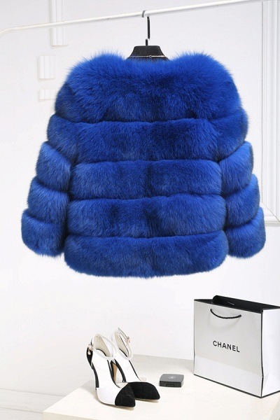 Women's Daily Party Long Faux Fur Coats_23