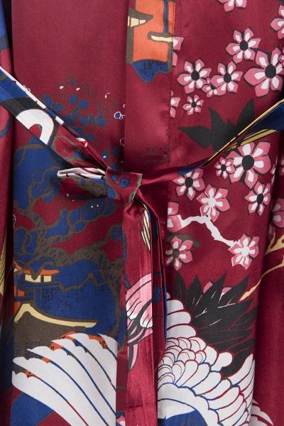 Casual Pattern Bridesmaid Bridal Robes_13