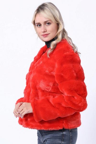 Women's Winter Short Fur Coat_2
