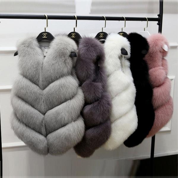 Women's Daily Basic Winter Regular Faux Fur Coats_7