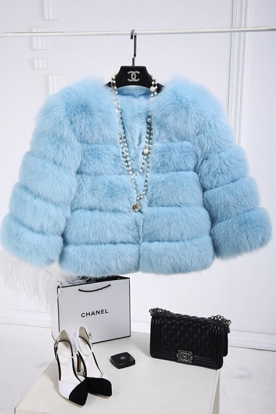 Women's Daily Party Long Faux Fur Coats_6