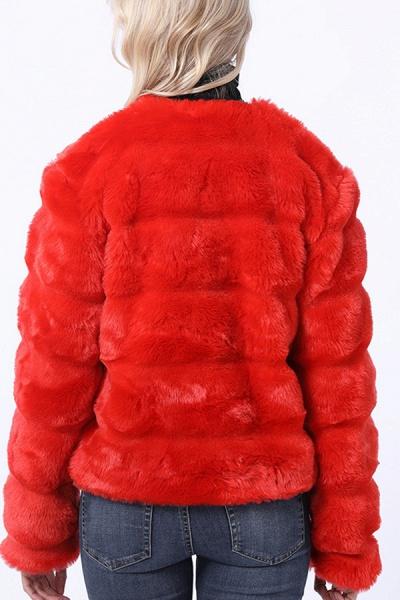 Women's Winter Short Fur Coat_7