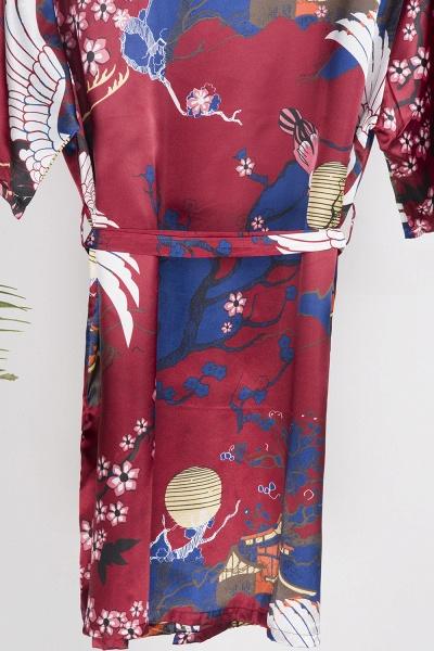 Casual Pattern Bridesmaid Bridal Robes_14