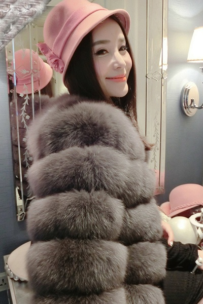 Women's Daily Party Long Faux Fur Coats_15
