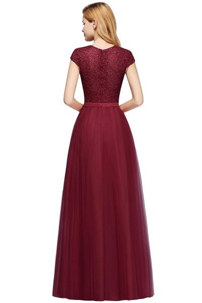 Graceful Jewel Tulle A-line Evening Dress_13