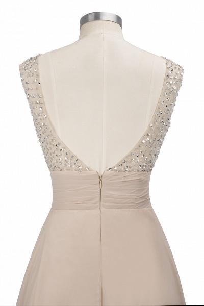 Beautiful Jewel Chiffon A-line Evening Dress_12