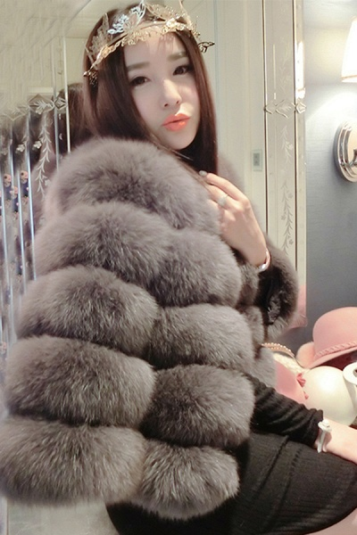 Women's Daily Party Long Faux Fur Coats_40