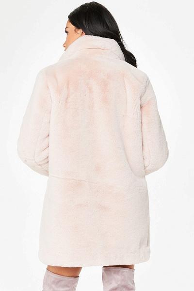 Winter Daily Regular Stand Long Faux Fur Coats_48