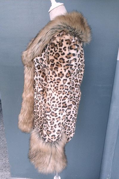 Daily Street Fashion Winter Long Faux Fur Coats_8