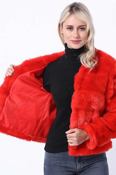 Women's Winter Short Fur Coat_6