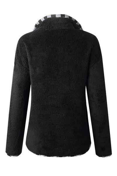 Holiday Coral fleece Turndown Fur Coats_2