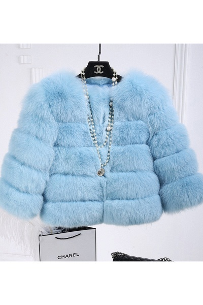Women's Daily Party Long Faux Fur Coats_44
