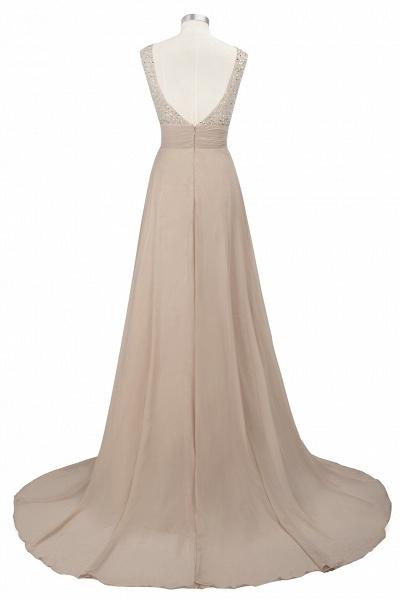 Beautiful Jewel Chiffon A-line Evening Dress_9