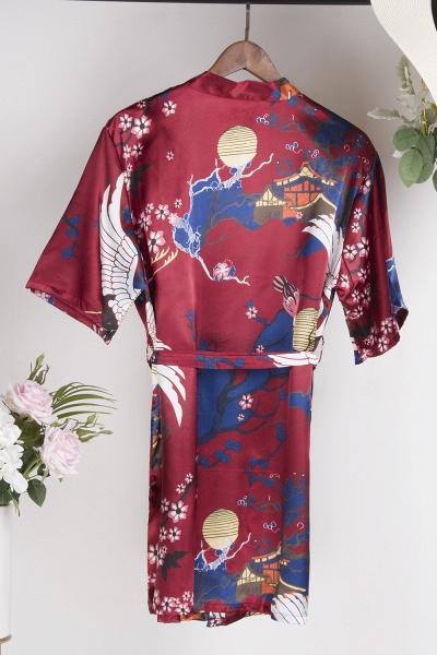 Casual Pattern Bridesmaid Bridal Robes_10