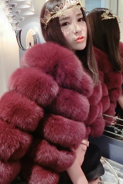 Women's Daily Party Long Faux Fur Coats_42