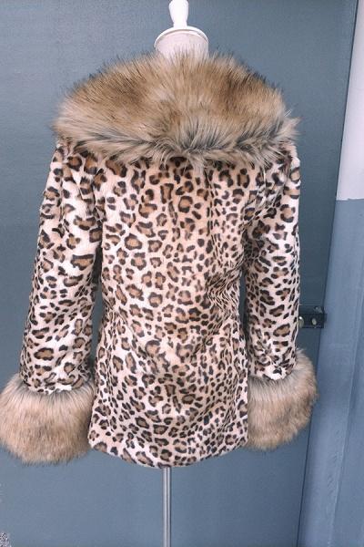 Daily Street Fashion Winter Long Faux Fur Coats_7