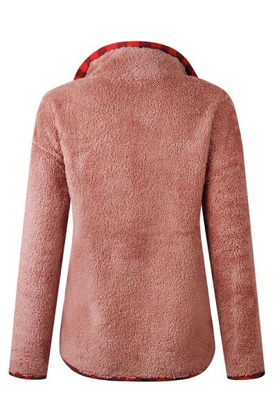 Holiday Coral fleece Turndown Fur Coats_1