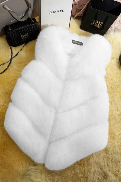 Women's Daily Basic Winter Regular Faux Fur Coats_1