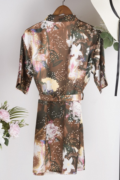 Affordable Printed Bridesmaid Bridal Robes_2