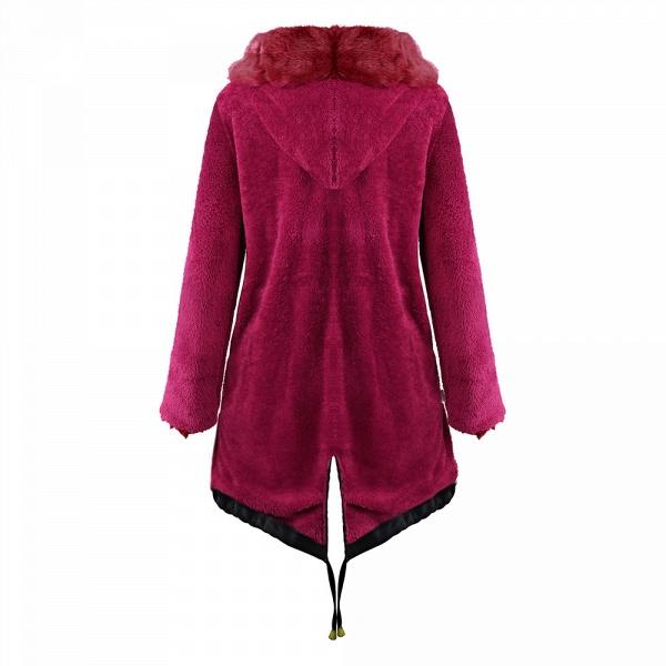 Winter Faux Fur-trimmed Long-length Overcoat_18